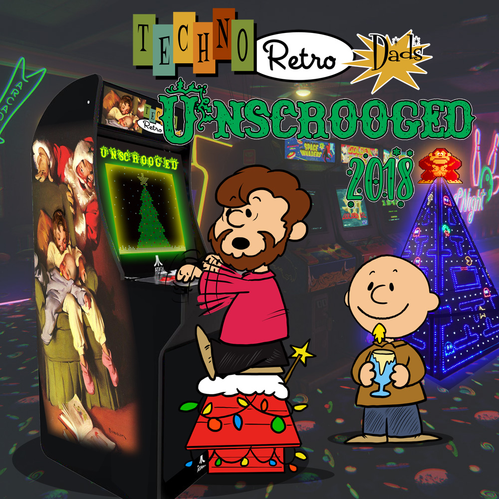 UnScrooged 2018 at the TechnoRetro Arcade