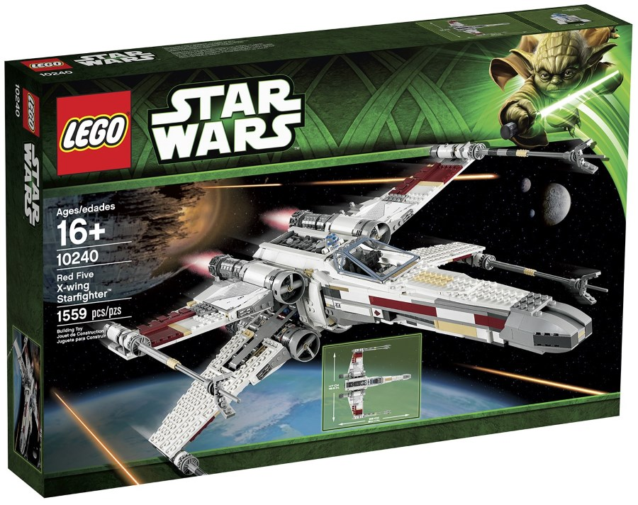 x-wing x-mas - lego x-wing - kenner x-wing