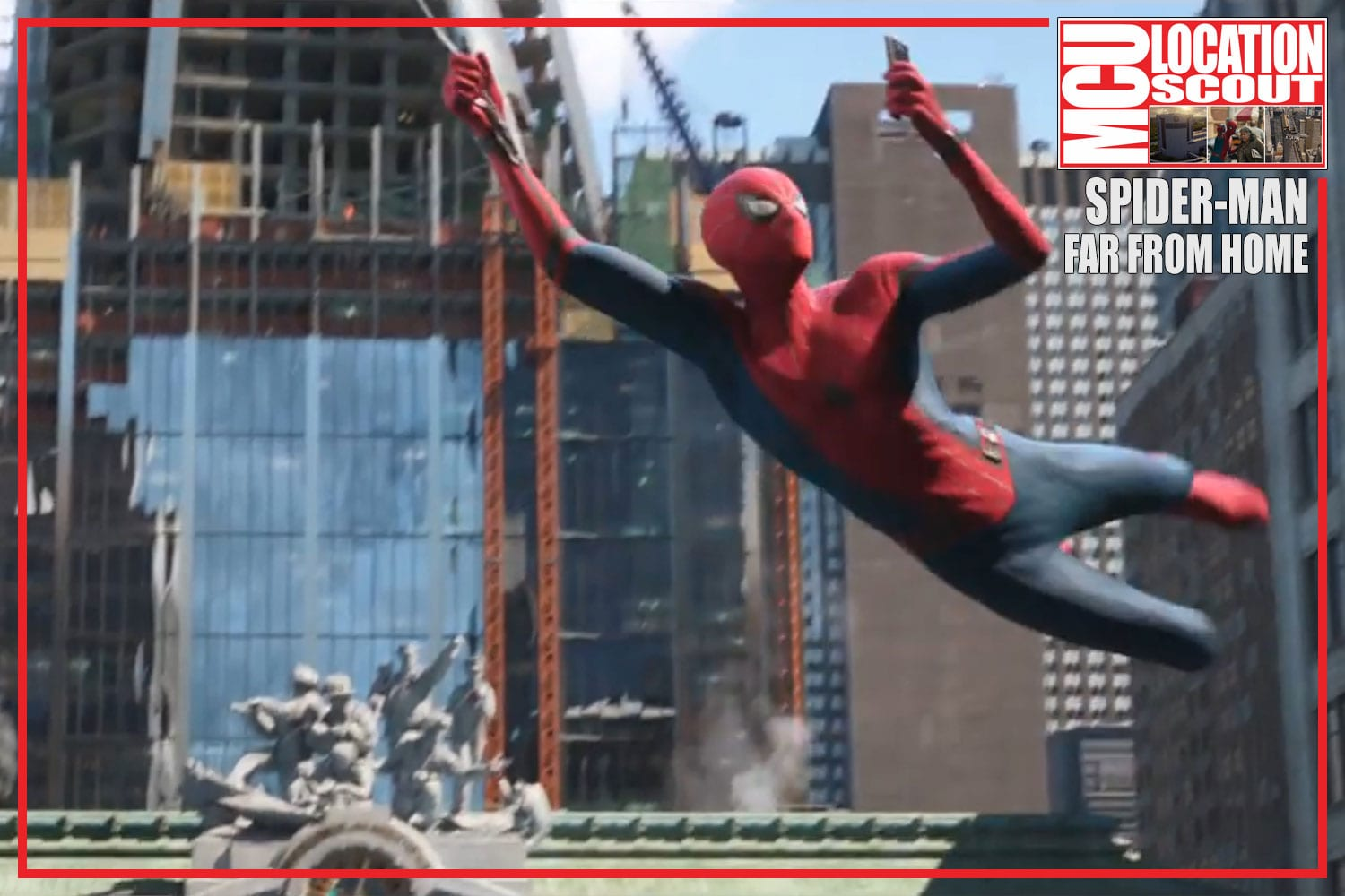 MCU: Location Scout   Spider-Man: Far From Home Trailer