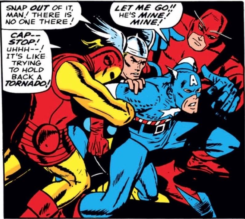Marvel Comics of 1964 Avengers