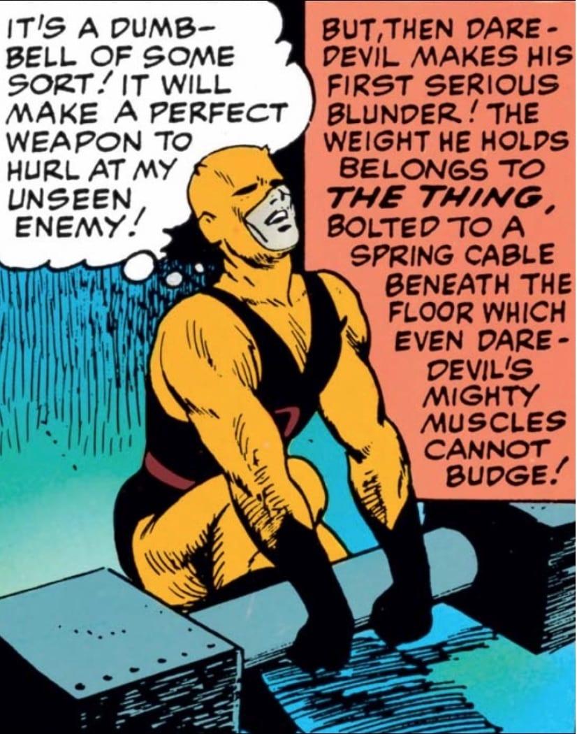 Marvel Comics of 1964 Daredevil