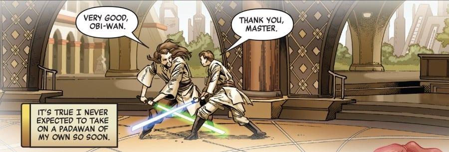 Star Wars: Age of Republic - Obi-Wan Kenobi #1 - Qui-Gon trains Obi-Wan