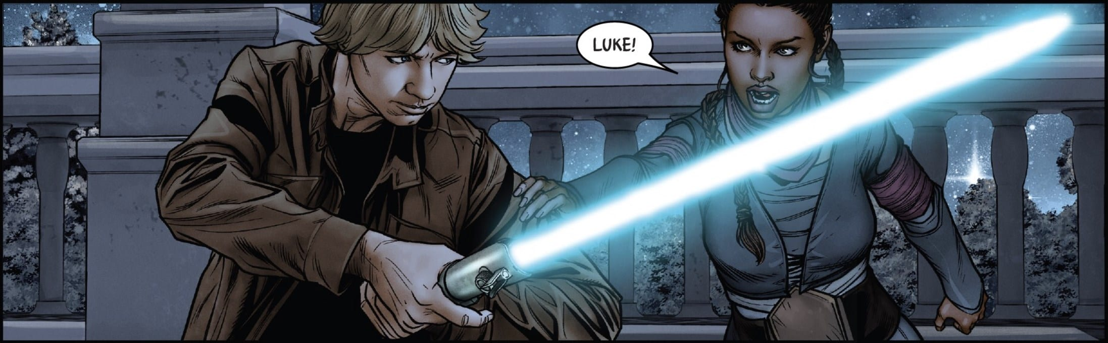 Star Wars #60 - Luke and Tula