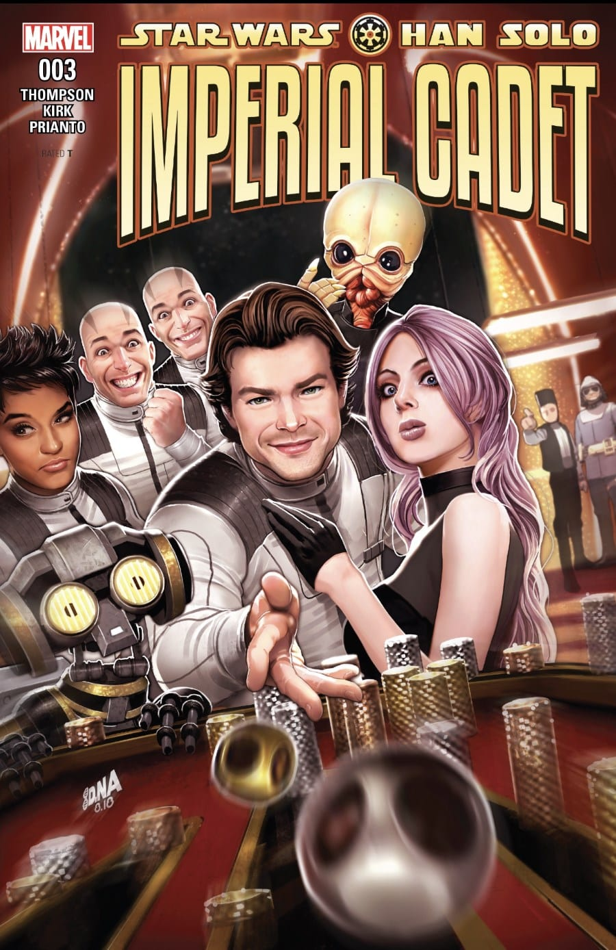 Han Solo: Imperial Cadet #3 Cover