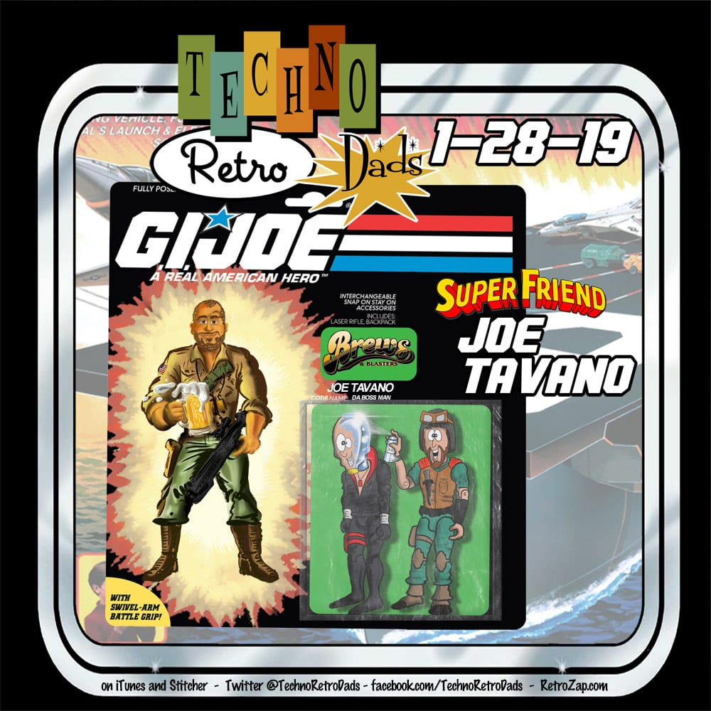 G.I. Joe with Retro Joe Tavano