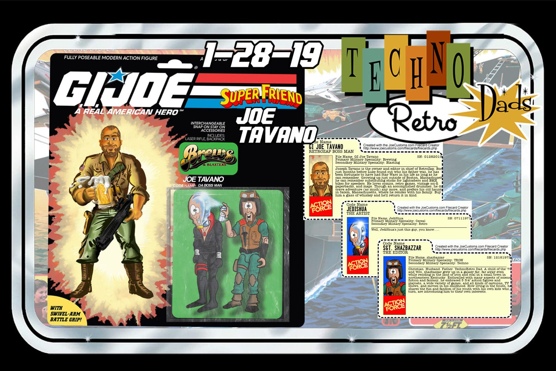 RetroZap TechnoRetro Dads G.I. Joe