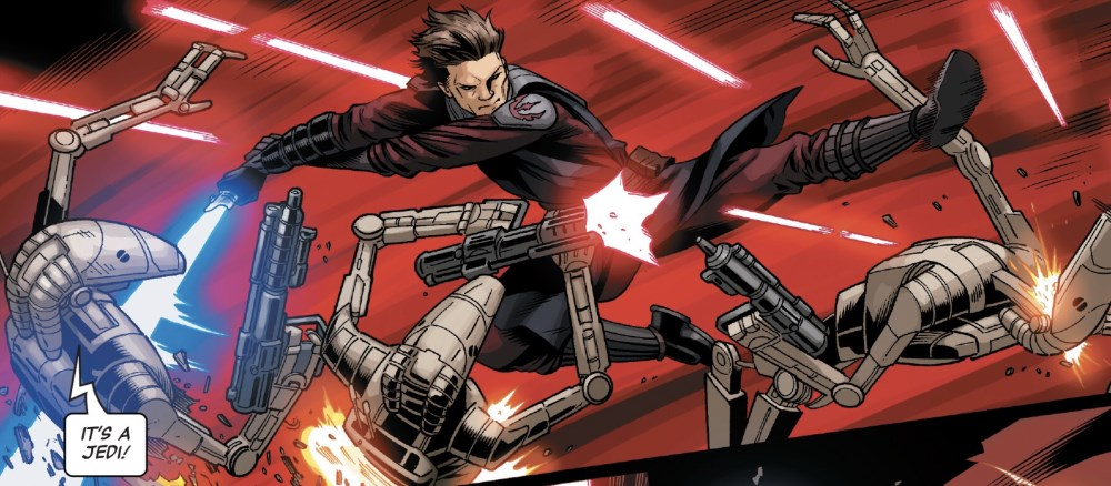Star Wars: Age of Republic Anakin Skywalker #1 - Anakin against the droids