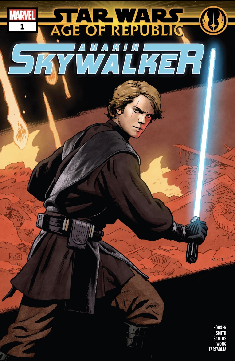 Star Wars: Age of Republic Anakin Skywalker #1 Cover