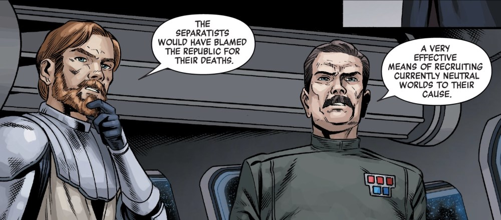 Anakin Skywalker #1 - Obi-wan and Yularen