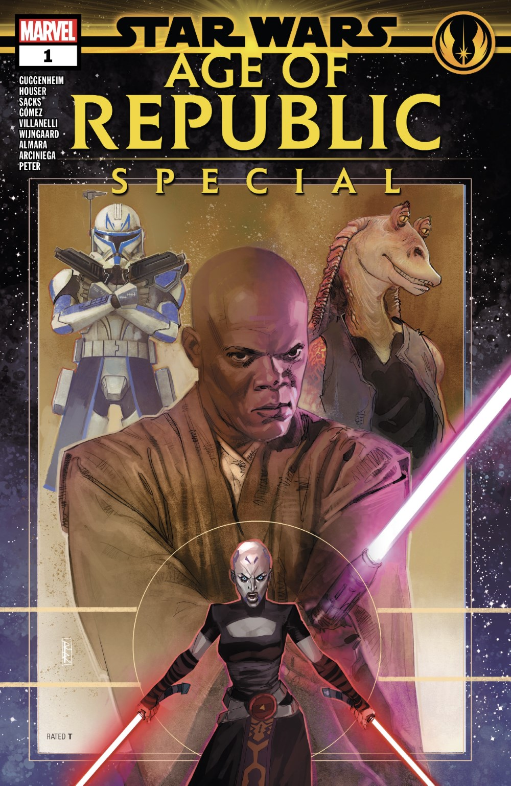 Star Wars: Age of Republic - Special #1 Cover
