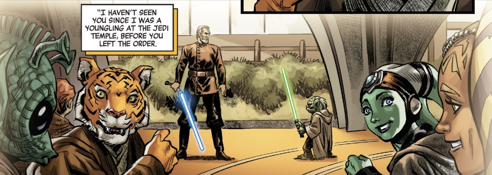 Count Dooku #1 - Dueling demonstration