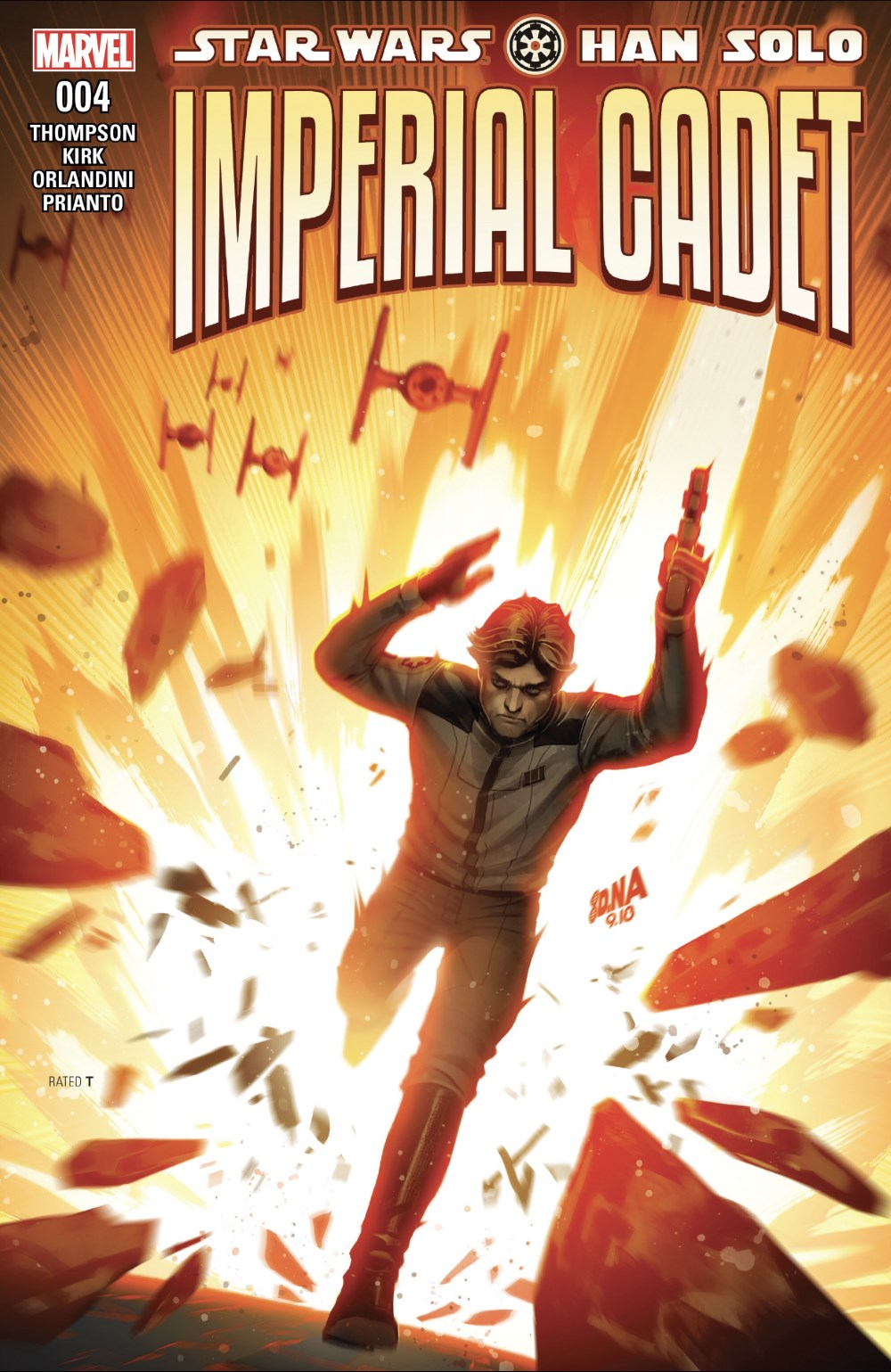 Han Solo: Imperial Cadet #4 Review