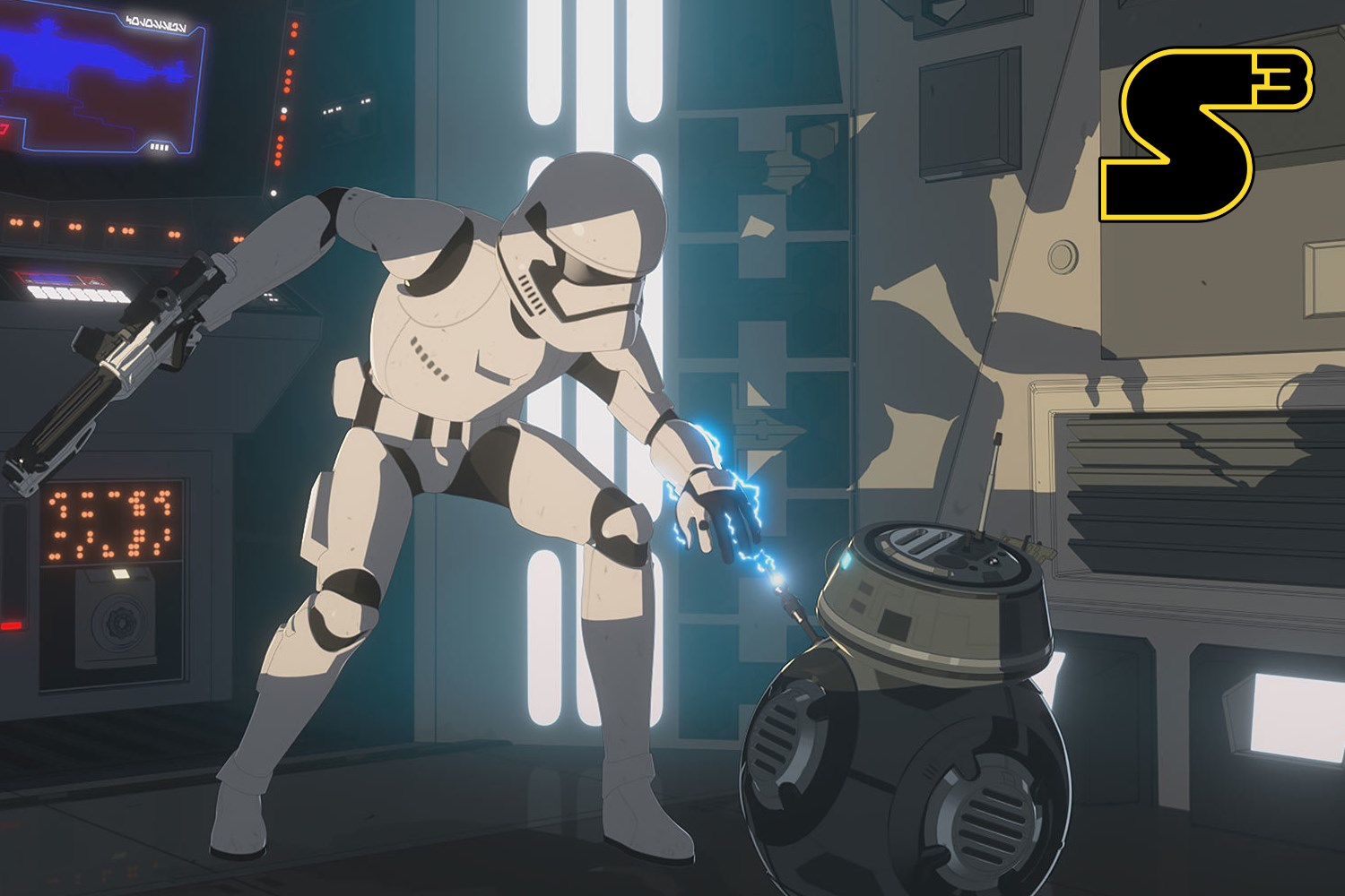 Starships, Sabers, and Scoundrels Ep 73.3 The New Trooper Feature Image