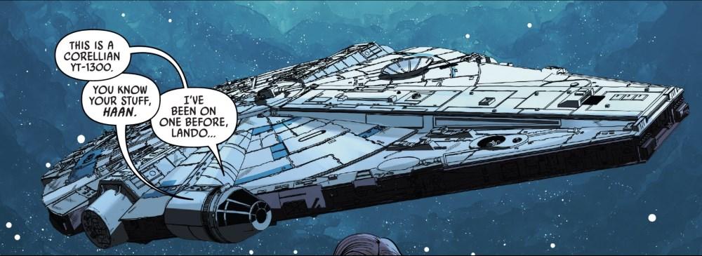 Solo #4 - The Millennium Falcon