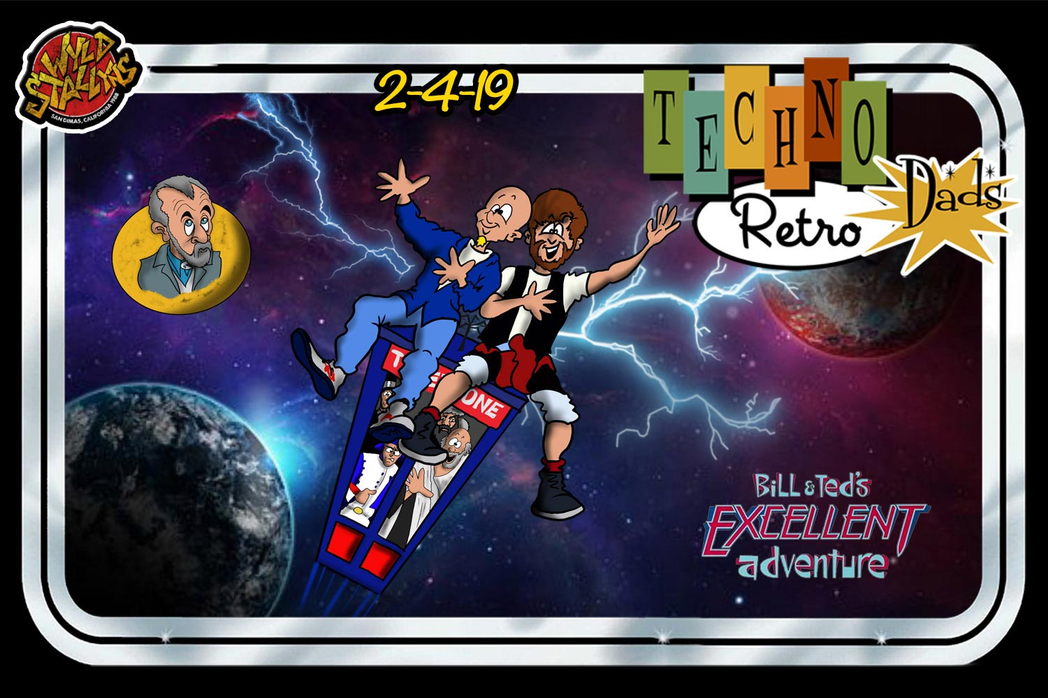 Bill and Ted TechnoRetro Dads