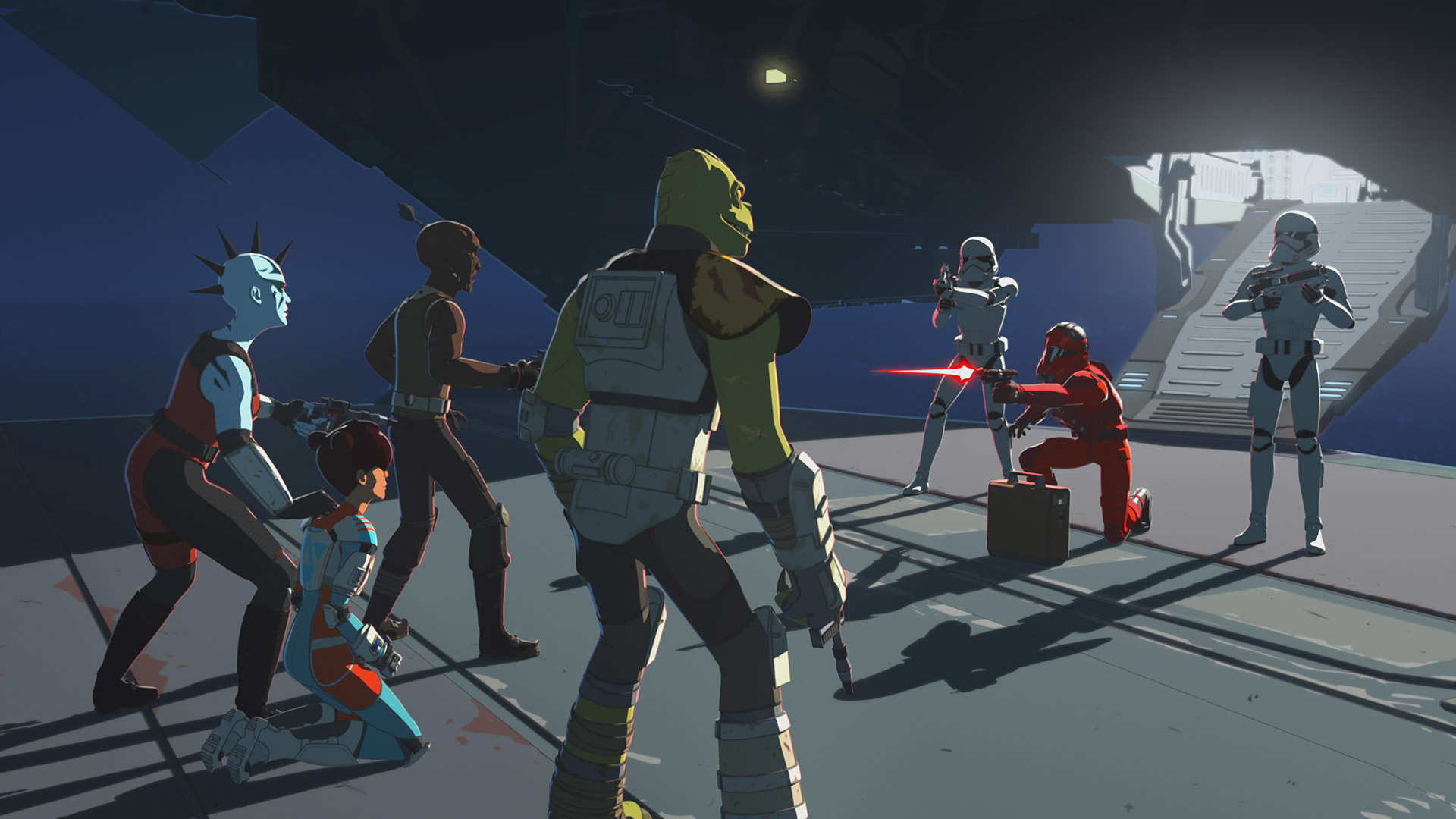 "Star Wars Resistance ""The Doza Dilemma"""