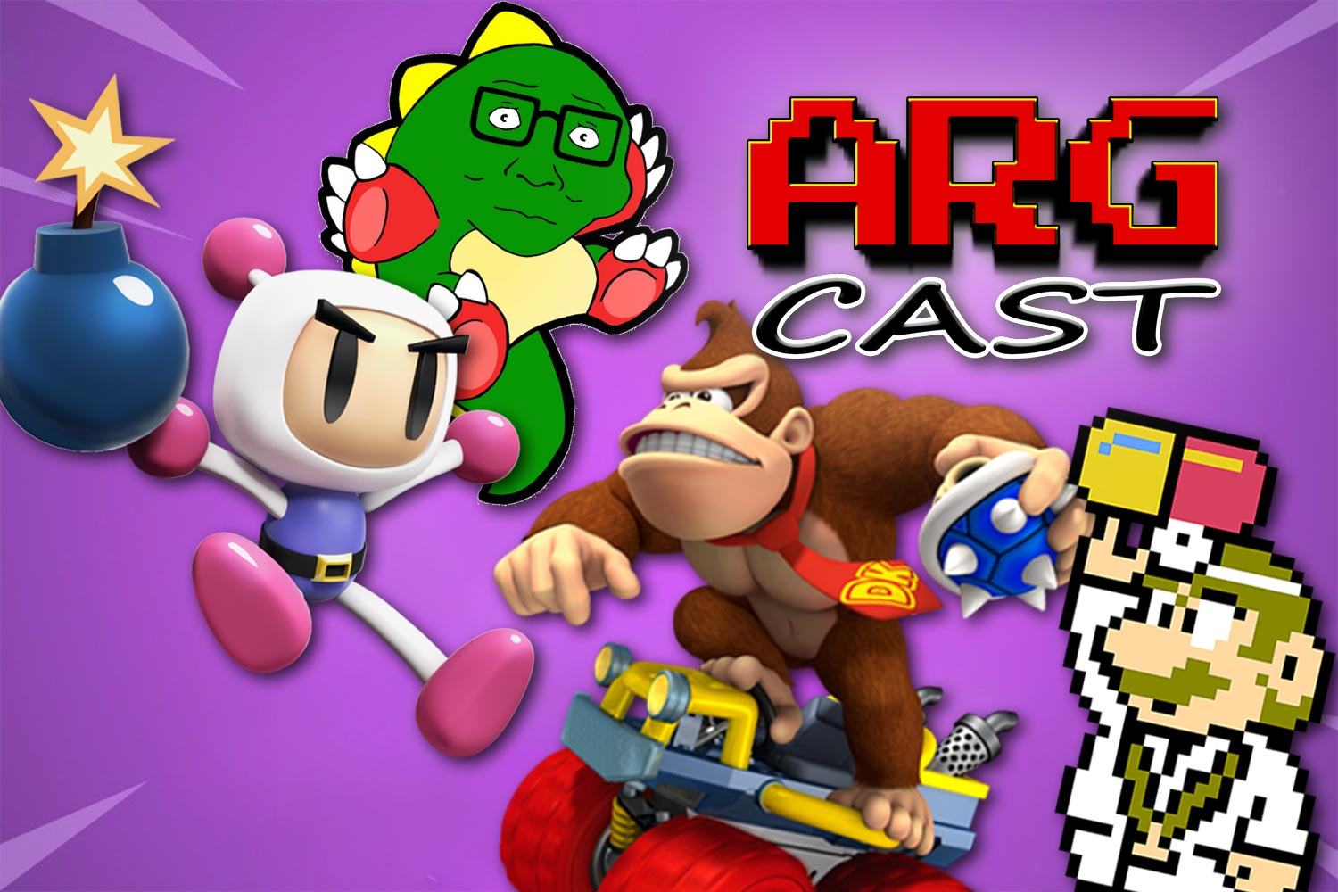 ARGcast #153: Battle Royale Retro Games with Tony and Andre