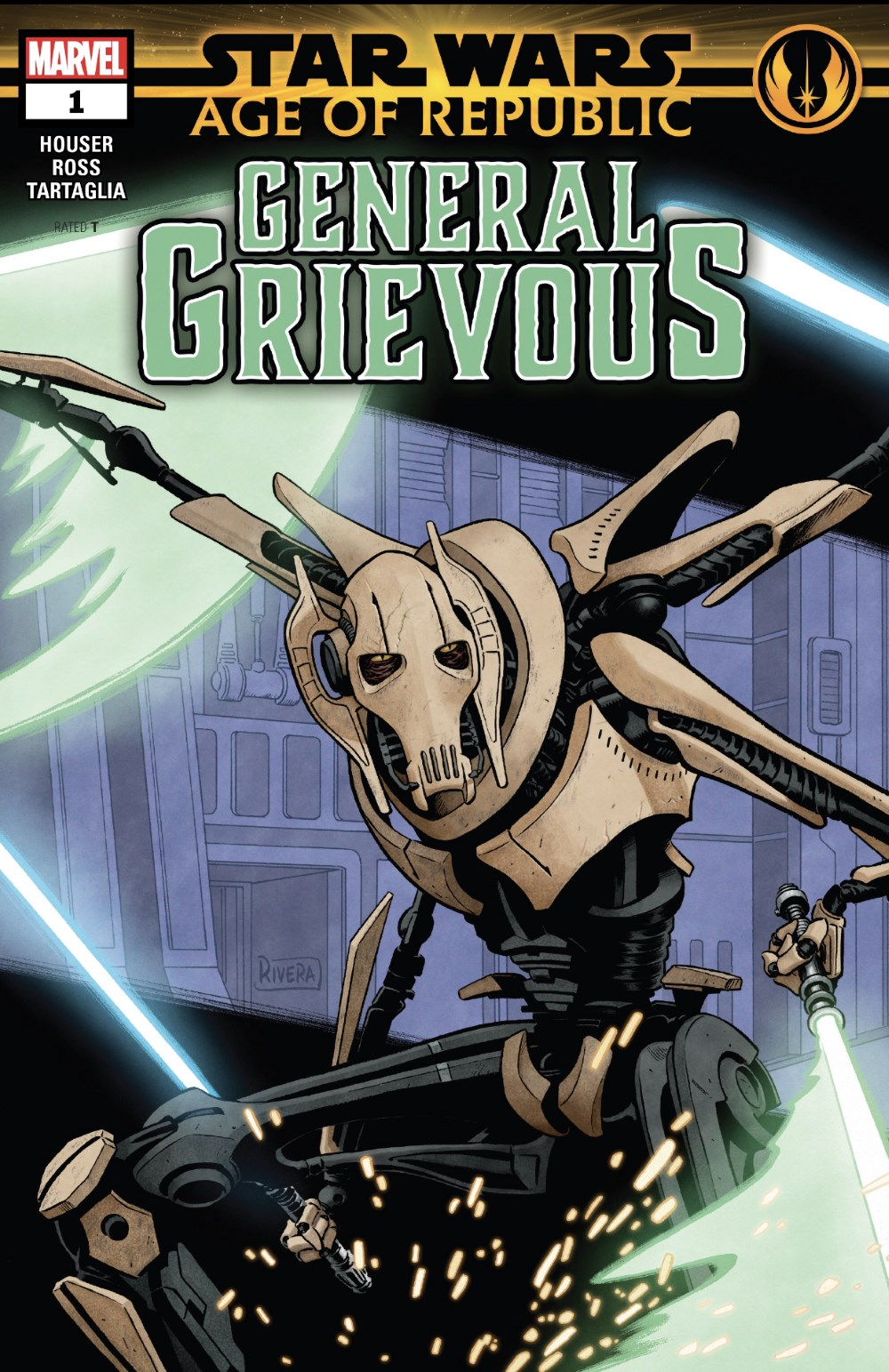 Star Wars; Age of Republic - General Grievous #1 Cover