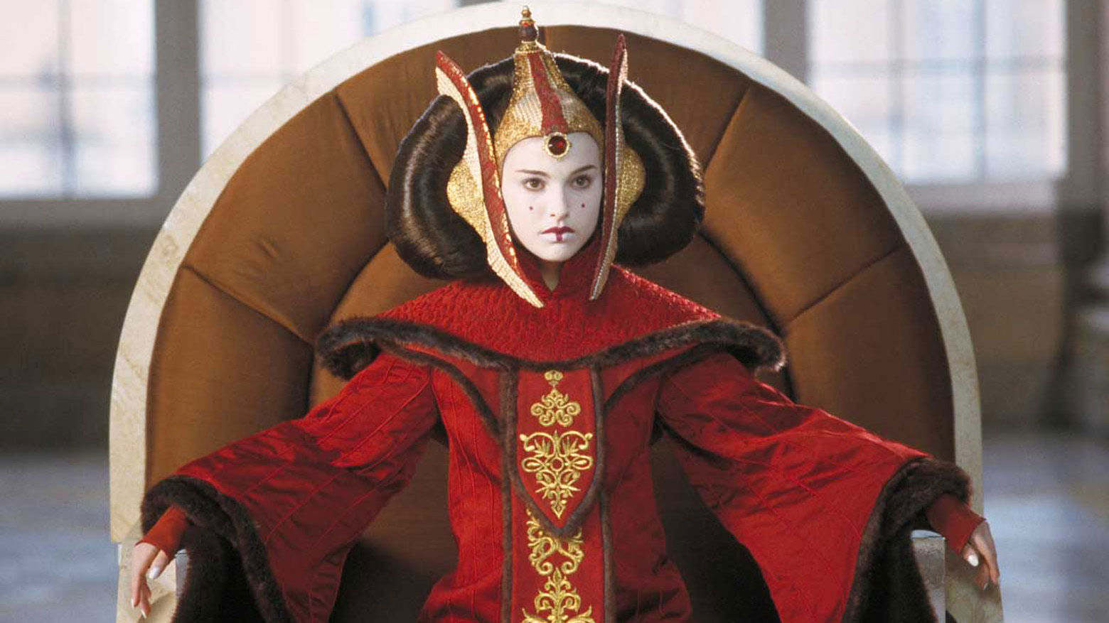 Natalie Portman as Queen Padme Amidala in Star Wars Episode I The Phantom Menace