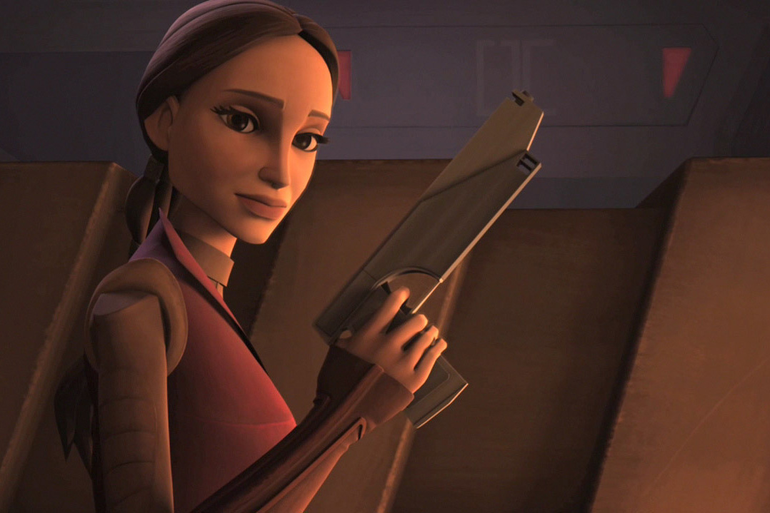 Senator Padme Amidala in Star Wars The Clone Wars