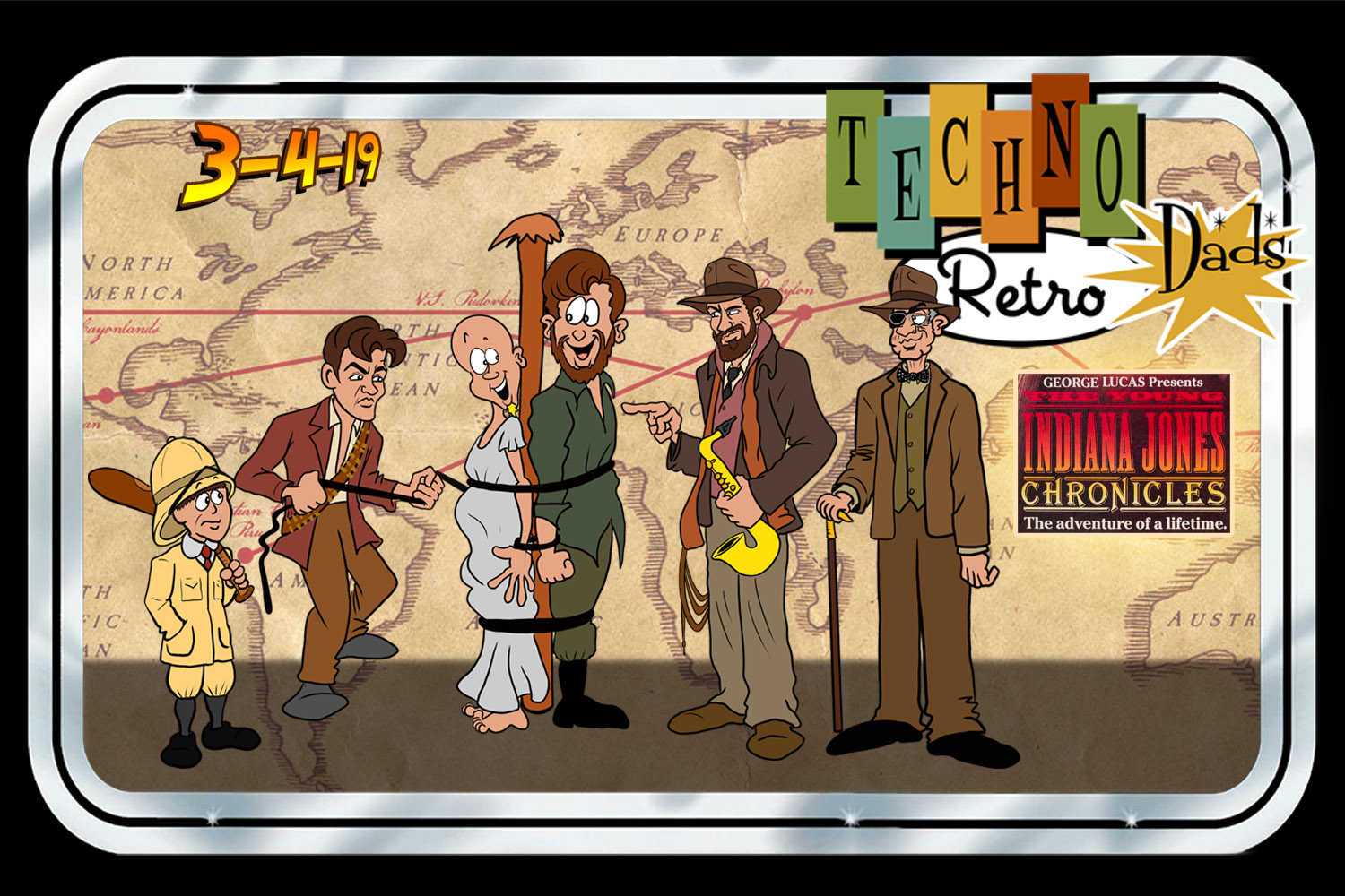 TechnoRetro Dads: High Adventure with Young Indiana Jones and RPGs