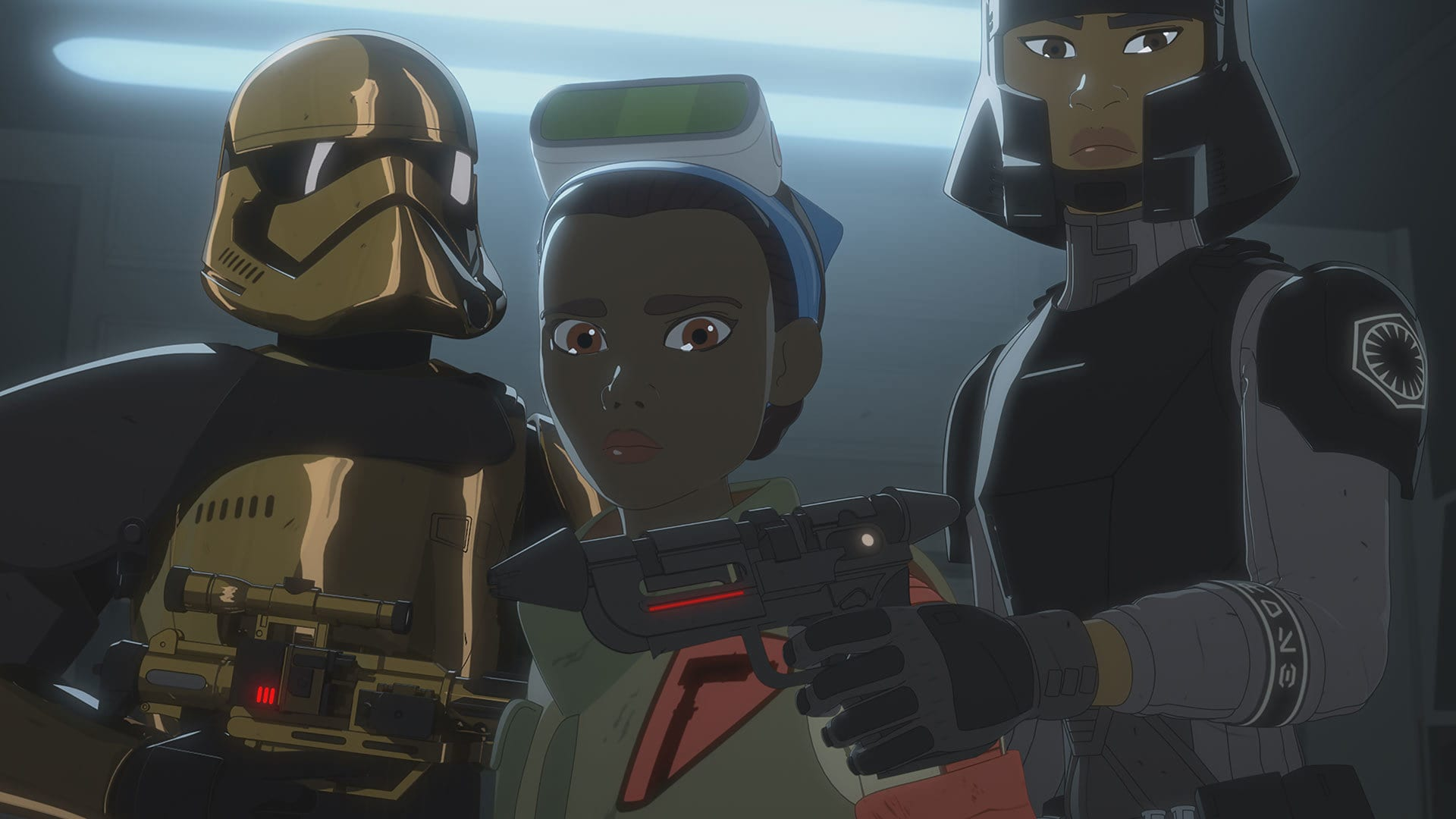 "Star Wars Resistance ""No Escape Part Two."""