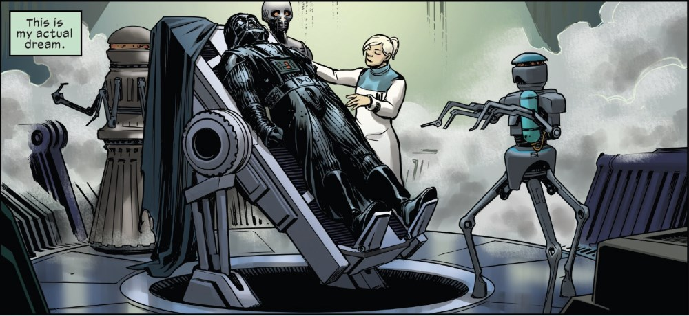 Vader: Dark Visions #3 - Vader on the surgical table
