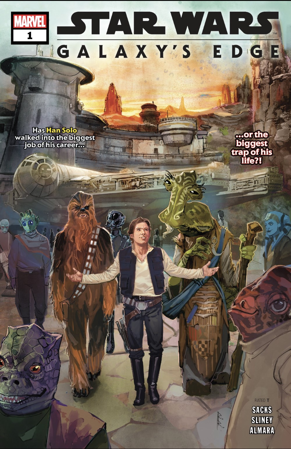 Star Wars: Galaxy's Edge #1 Cover