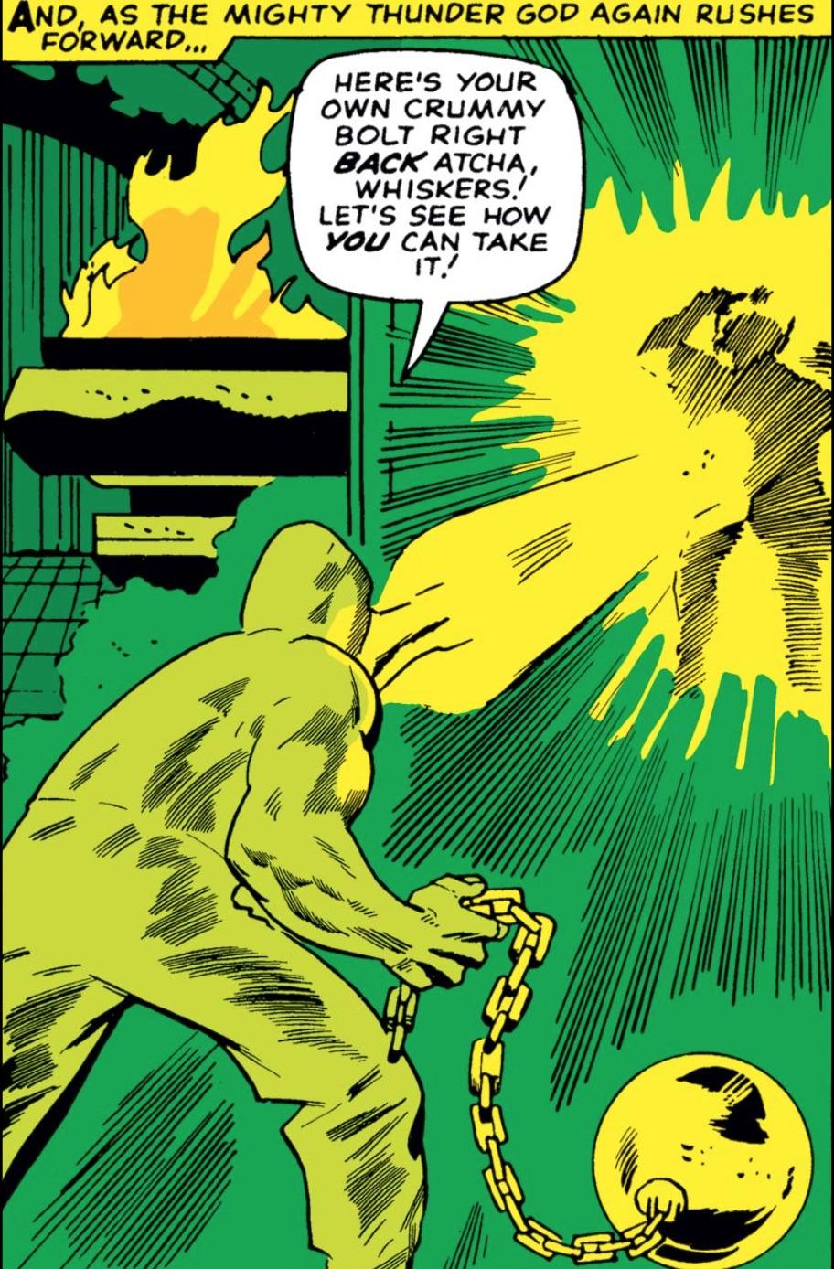 Marvel Comics of 1965 Absorbing Man