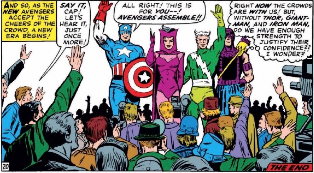Marvel Comics of 1965 Avengers