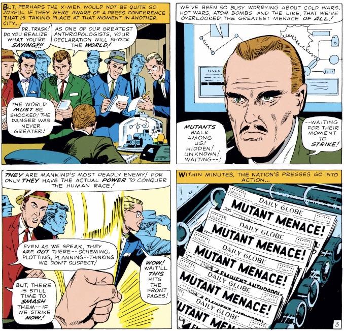 Marvel Comics of 1965 Bad News