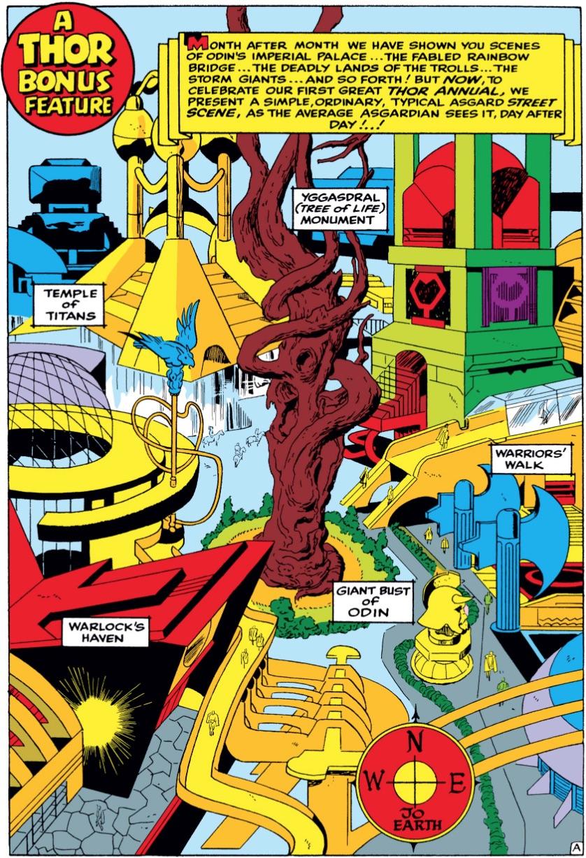 Marvel comics of 1965 annuals