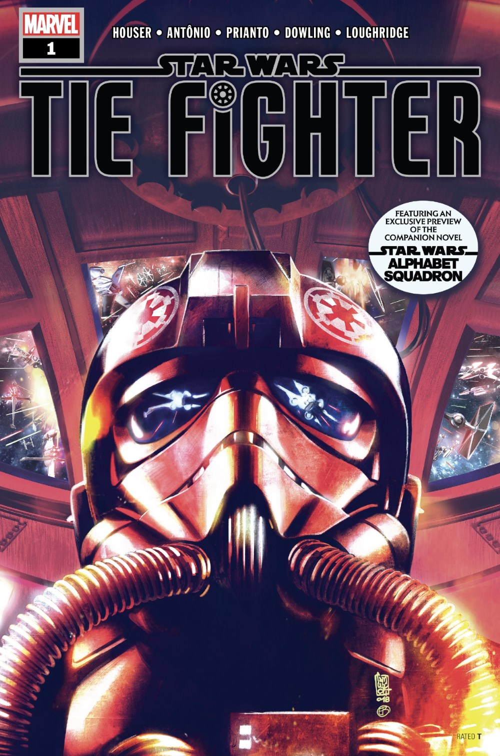 TIE Fighter #1 Cover