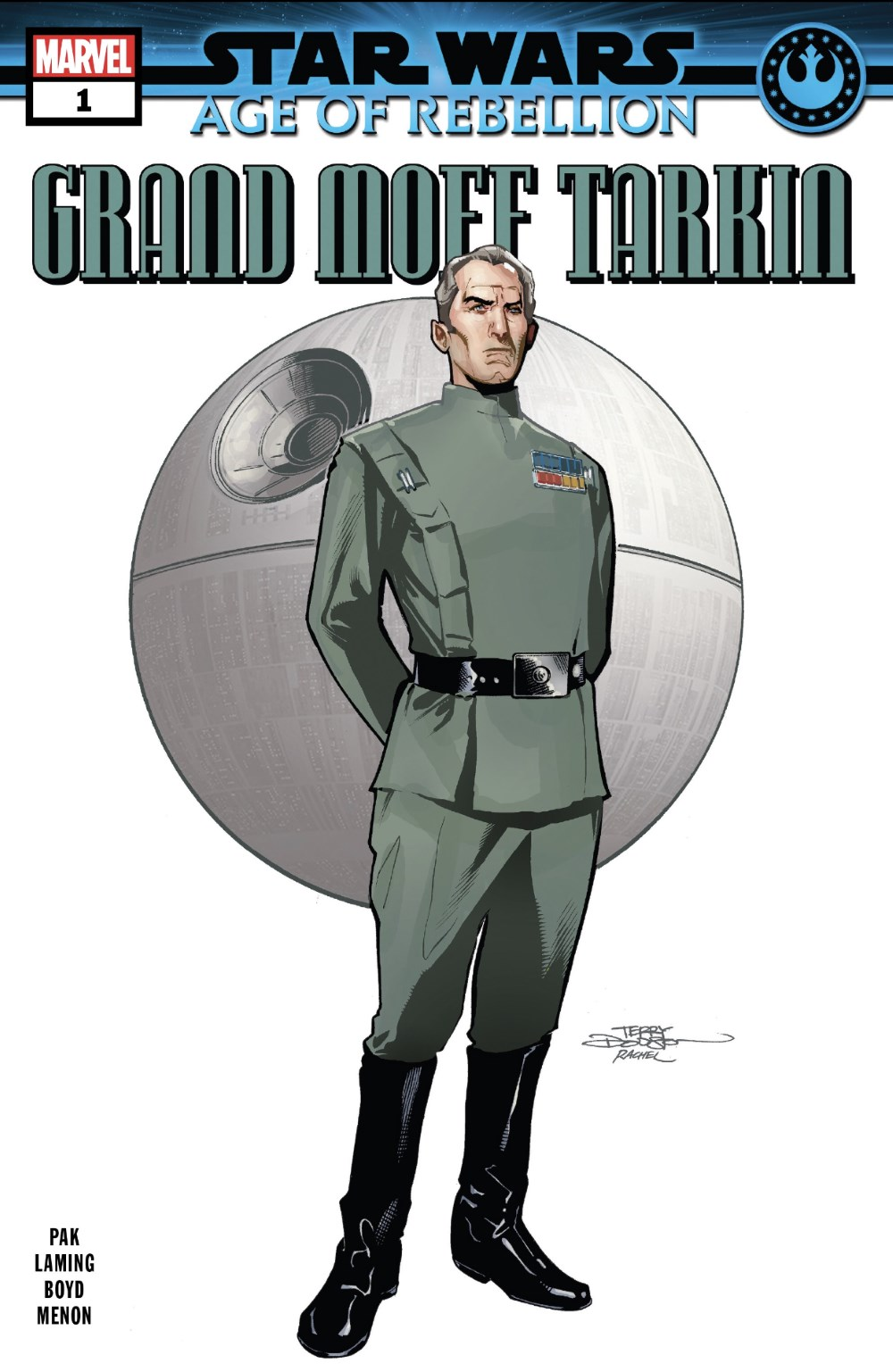 Star Wars: Age or Rebellion - Grand Moff Tarkin #1 Cover
