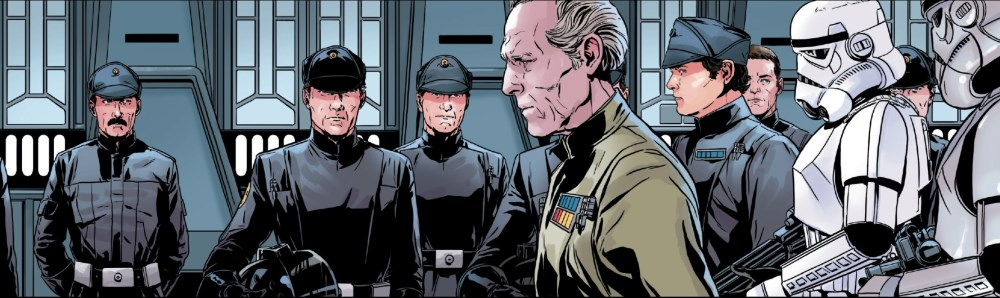 Grand Moff Tarkin #1 - Tarkin and the Gunners