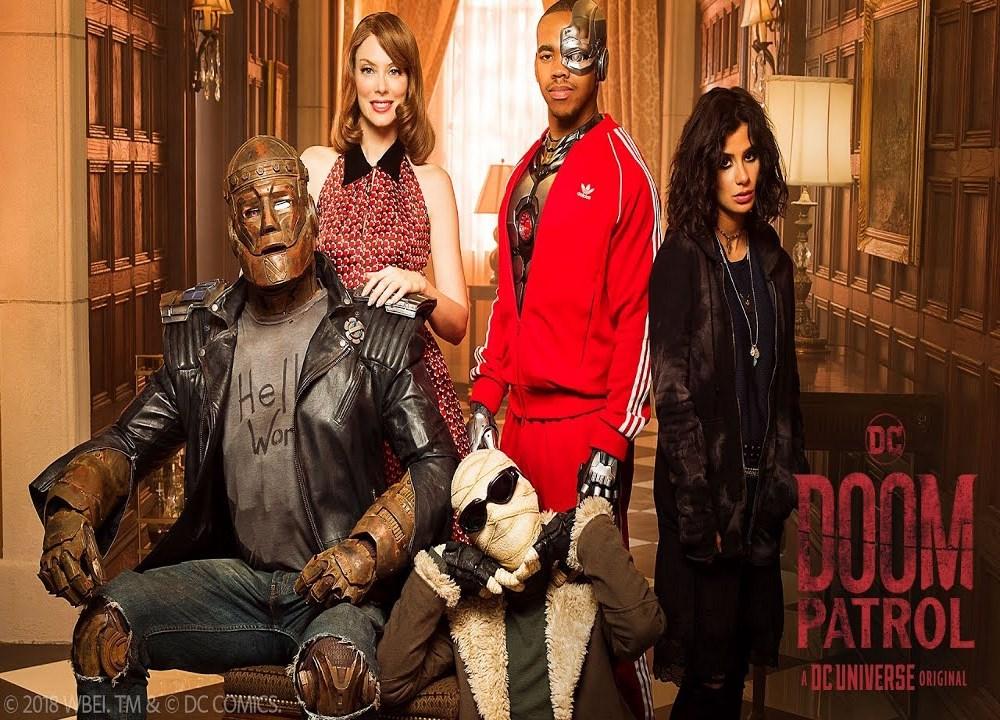 Robotman and the gang