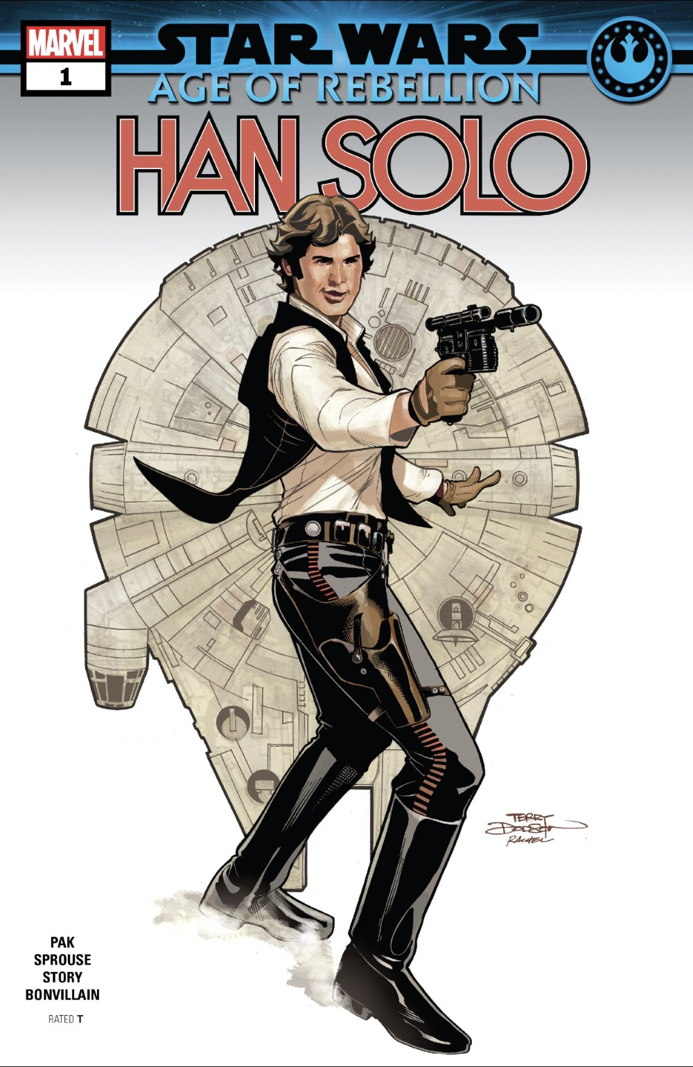 Age of Rebellion - Han Solo #1 Cover