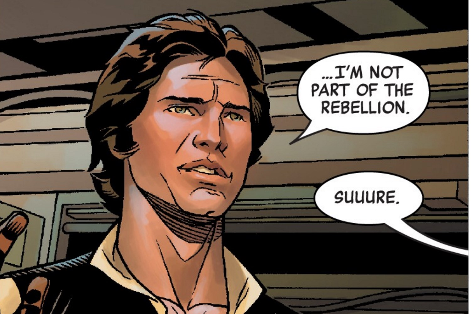 Image result for han solo age of rebellion comics