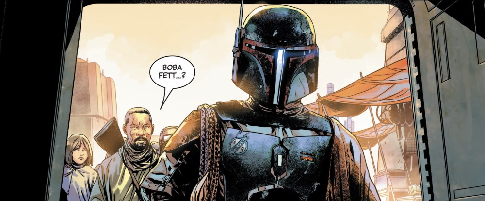 Boba Fett #1 Collecting his bounty
