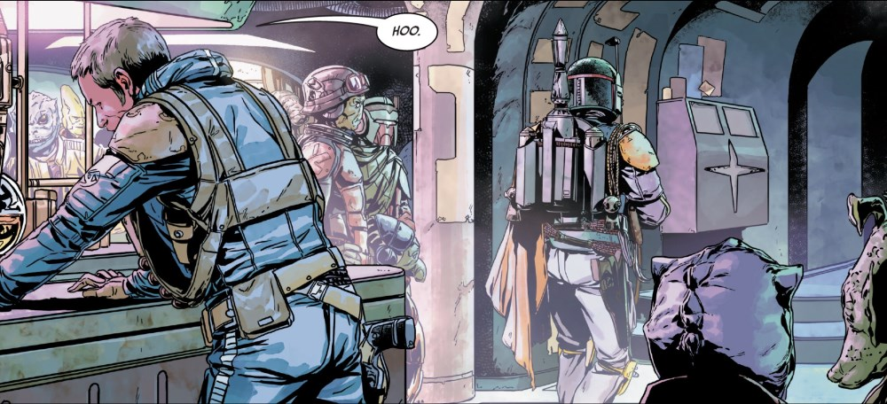 Fett in the cantina