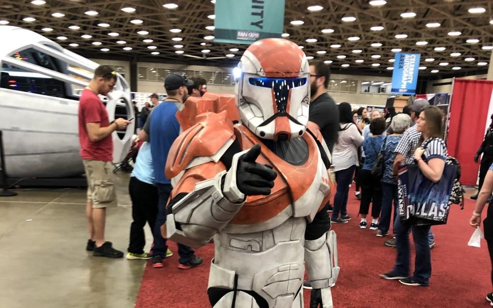 Fan Expo Dallas 2019 Commando