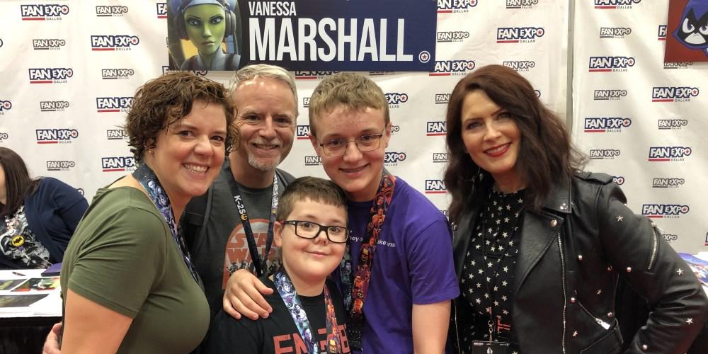Fan Expo Dallas 2019 Vanessa Marshall