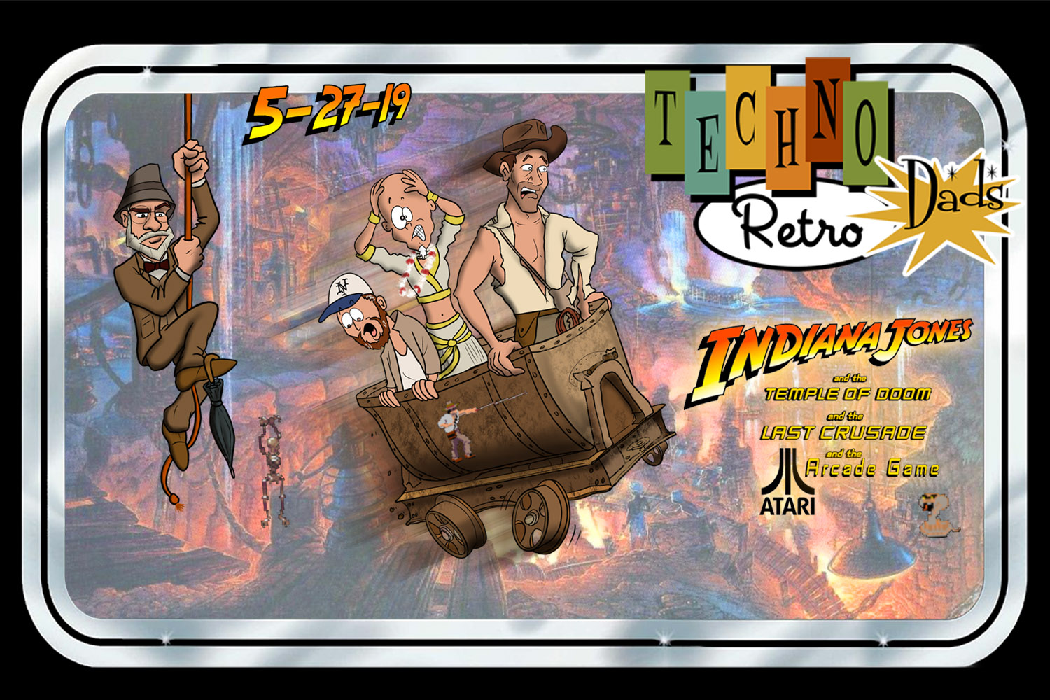 TechnoRetro Dads: Last Crusade to the Temple of Doom