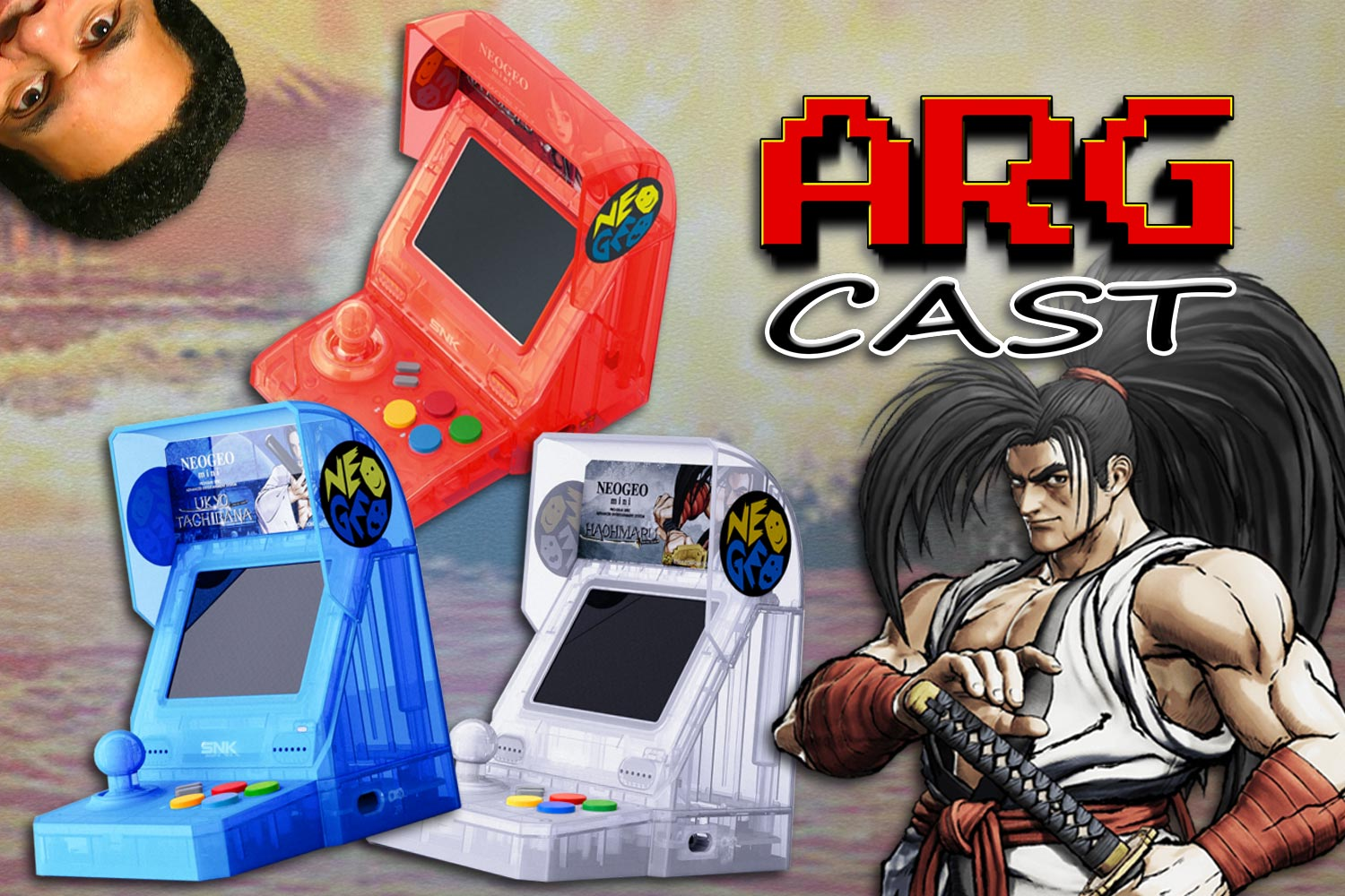 ARGcast Mini #24: NEOGEO Mini, SNK, and Reggie w/ Ben Herman