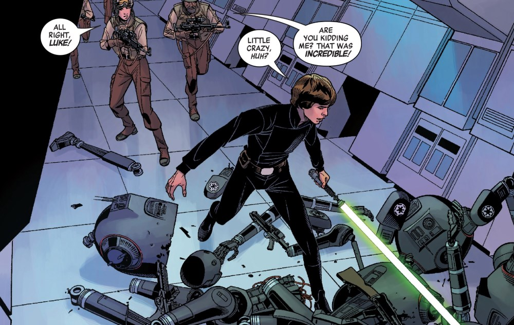 Luke Skywalker #1 - Destroyer of Droids