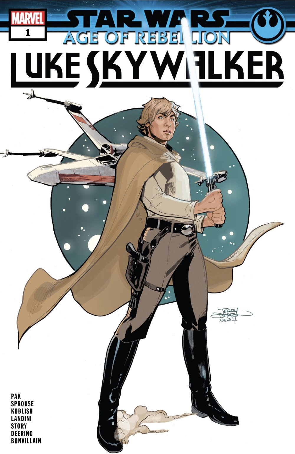Luke Skywalker #1 Cover