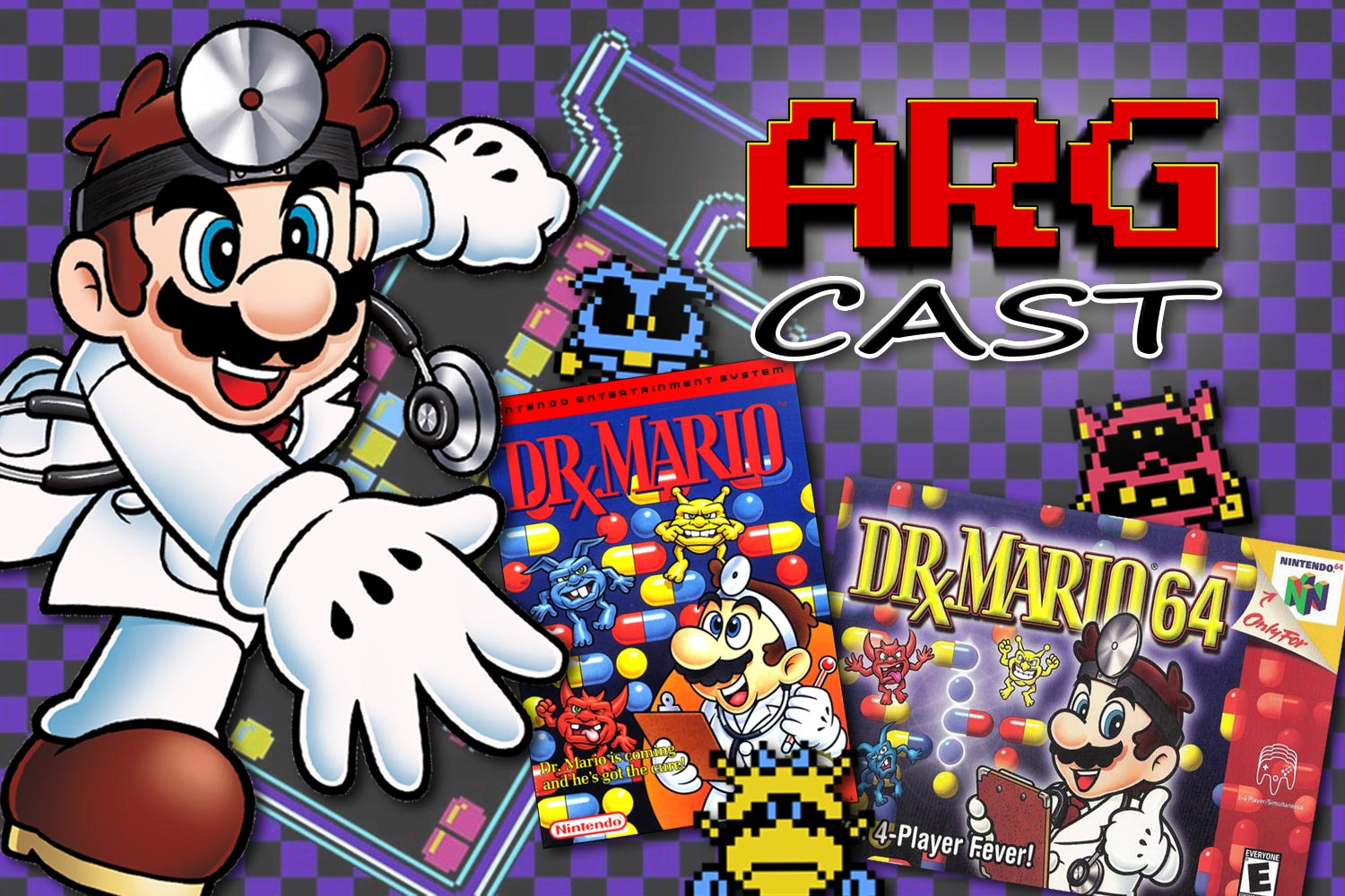 ARGcast #168: Making an Appointment with the Dr. Mario Series