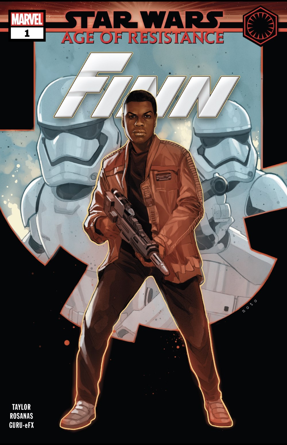Star Wars: Age of Resistance - Finn #1 Cover