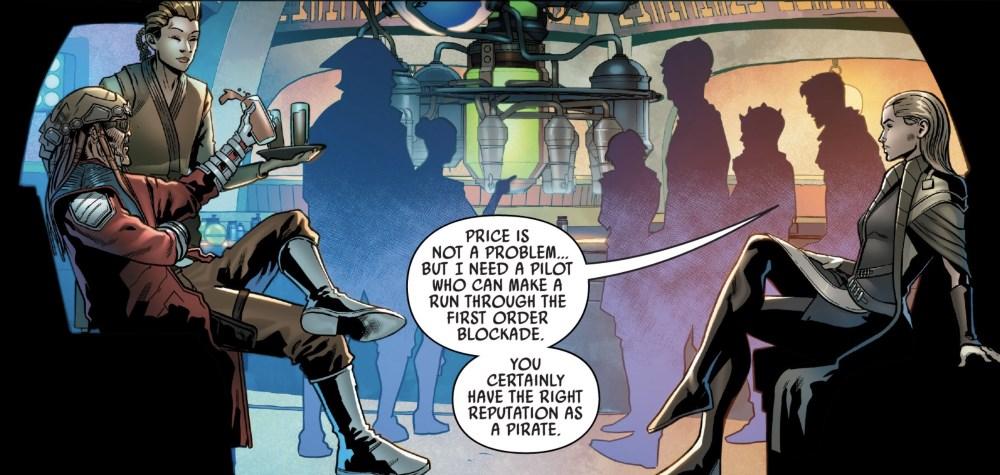Galaxy's Edge #3 - Hondo at Oga's cantina
