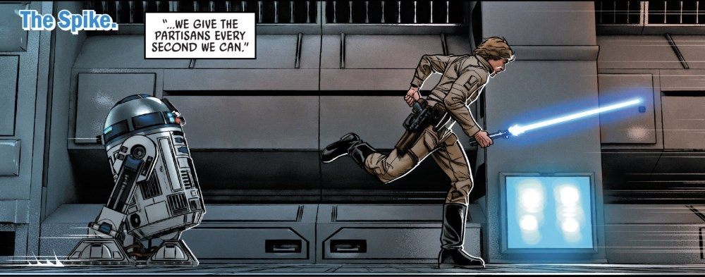 Star Wars #66 Artoo and Luke